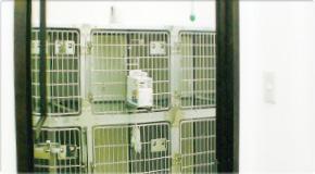 冷暖房完備の入院室